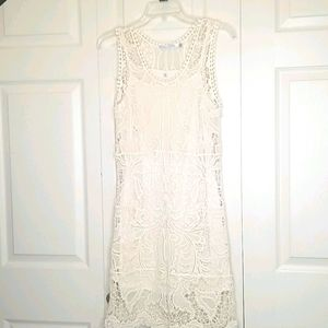 Solitaire Ivory Lace Dress Size 0